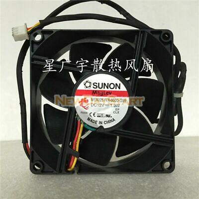New Original Me80251vx-0000-g99 Sunon Cooling Fan 12v 1.9w 3wire 8025mm