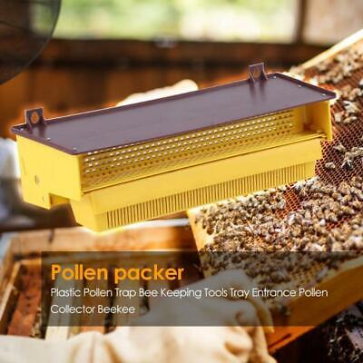 Plastic Beekeeping Pollen Trap Collector For Apiculture Beekeeping Tools Yellow