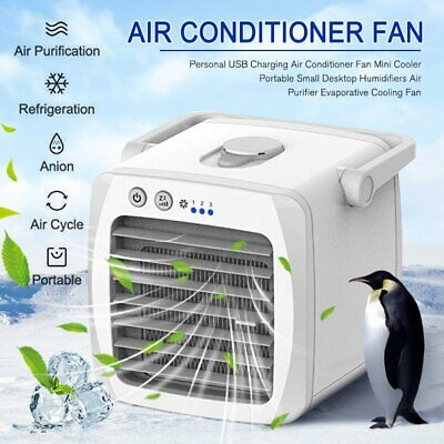 Summer Best Air Conditioner Fan Mini Cooler Humidifiers Purifier Cooling