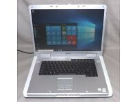 FAST 17 INCH DELL INSPIRON 2 X 2GHZ WINDOWS 7 LAPTOP