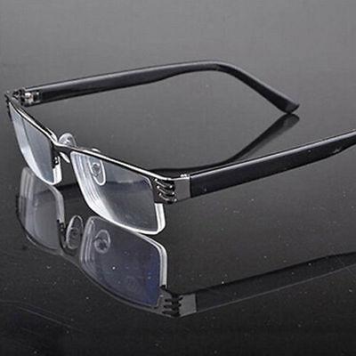 Frauen Herren Lesebrillen Lesebrille Brille Lesehilfe Sehhilfe +1,0 +2.5-Schwarz