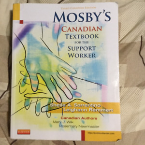 Mosby's textbook for PSW