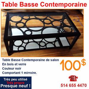 Table Basse de Salon Contemporaine