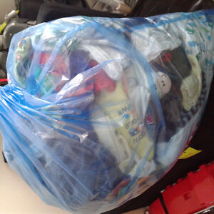 Large lot of baby boy clothing nb/0-3month