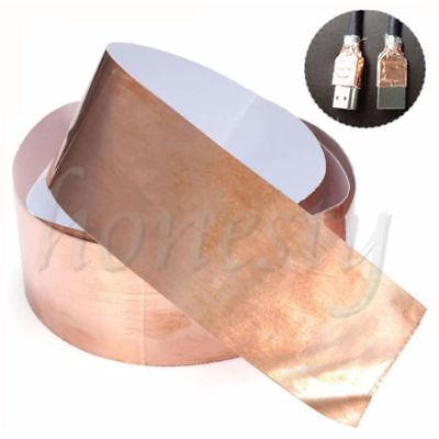 1pc Copper Foil Shielding Tape 50mm1m Low Impedance Conductive Adhesive