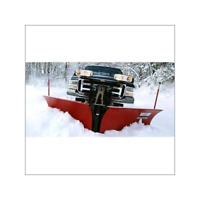 3/4 ton truck with 8'6 v-plow and operator available