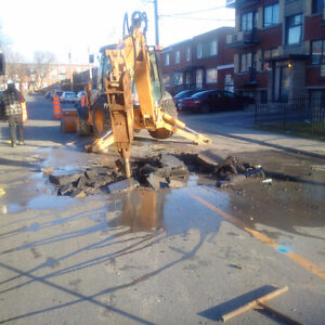 excavations and concrete of all types and situations Cornwall Ontario image 1