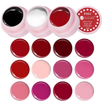 14x Red UV LED Soak-Off UV Gel Nail Polish Lot Set Draw Paint Varnish - Red Uv Paint