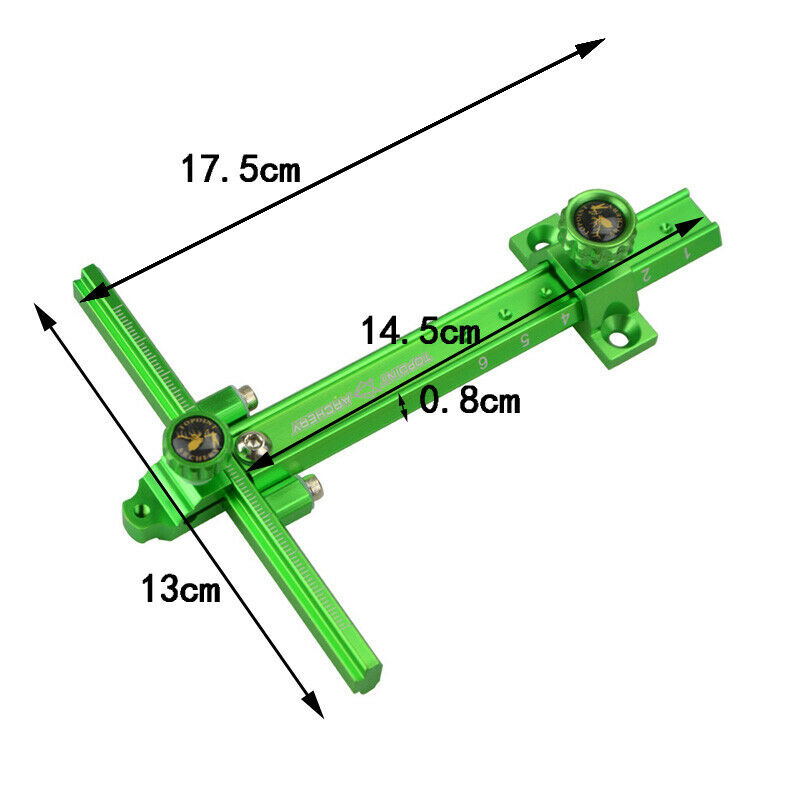"Details about  /Archery Sight Recurve Bow 0.059/"" Aluminum Right Left Hand Adjustable Target Hunt"
