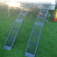 80'' steel foldable ramps
