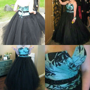 Prom dress with corset back for sale
