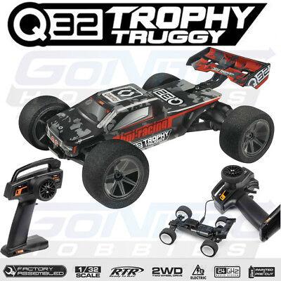 HPI Racing 120000 1/32 Q32 Trophy Truggy 2WD RTR w/ Radio