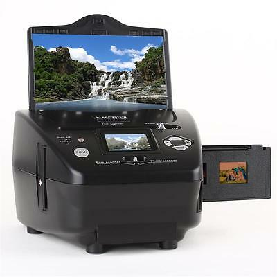 "5.1 MP HOME DIGITAL SLIDE FILM NEGATIVE PHOTO SCANNER w. 2.4"" LCD DISPLAY SCREEN"