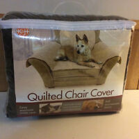 Brand New K&H Manufacturing Furniture Pet Cover for Chair, Mocha