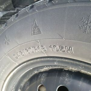Used winter tires on rims 245/60R/18 for Ford Edge / Explorer