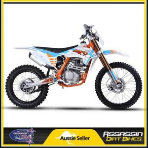 ASSASSIN KAYO DIRT BIKE K1 250CC 4 STROKE ELECTRIC 18R 21F 2018 Taren Point Sutherland Area Preview