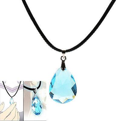 Cosplay Collana di cristallo azzurro per spada Art Online SAO Kirito Asuna'sCRIT