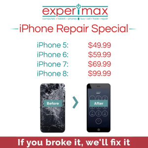 iPhone Repair Special! 90 day Warranty