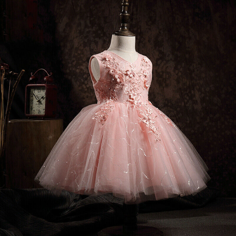 floral princess for little girls party gowns