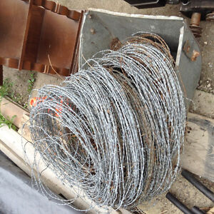 Used barb wire