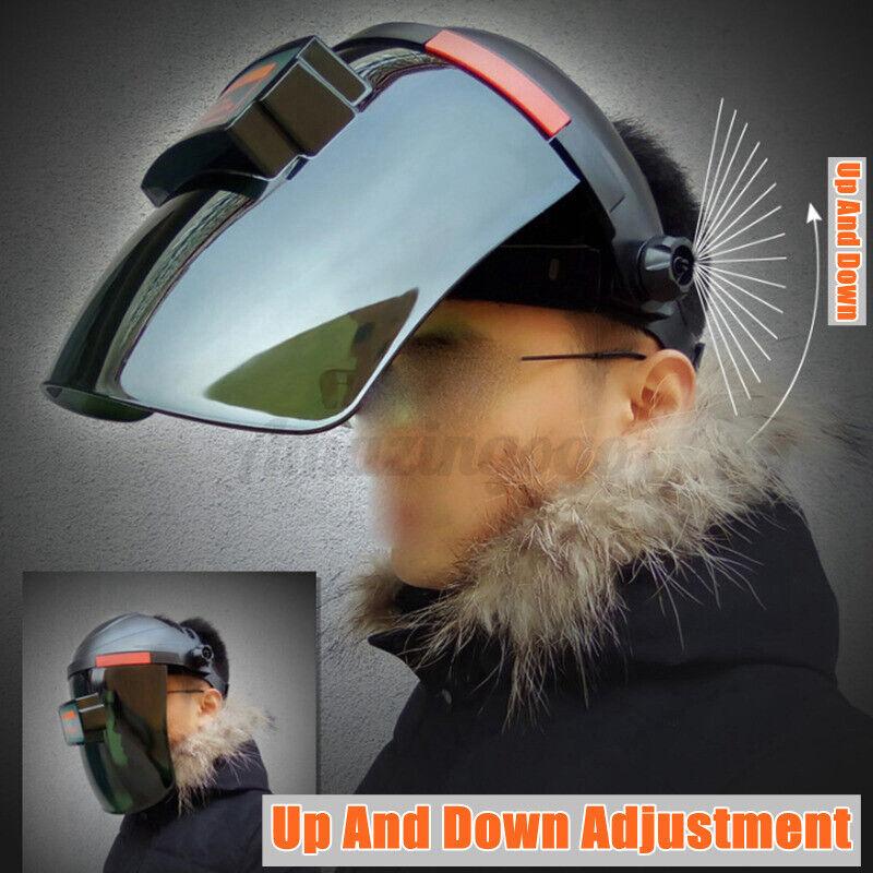 DIN 3 Solar Auto Darkening Welding Helmet Tig Mig Arc Mask Grinding Welder USA