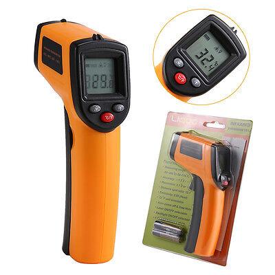 - 50°C bis 380°C Liqoo Infrarot laser Thermometer Pyrometer Temperatur Messgerät