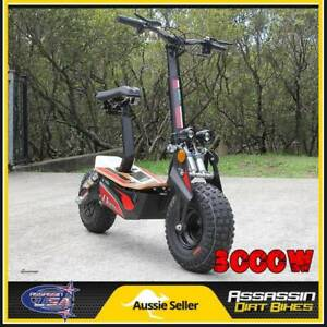ASSASSIN USA EV3000 3000W SCOOTER 48V ELECTRIC OFFROAD 1000W 2000 Taren Point Sutherland Area Preview