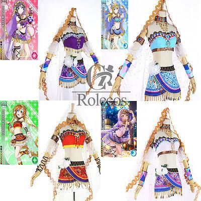 Love live Lovelive Arabian Nights / Dancer Awake Cosplay Costume Complete Set