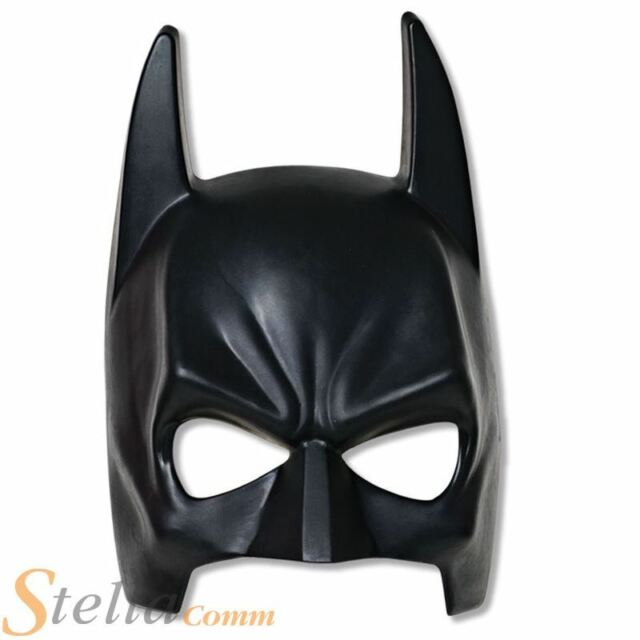 Boys Batman The Dark Knight Rises Face Mask Halloween Fancy Dress Costume