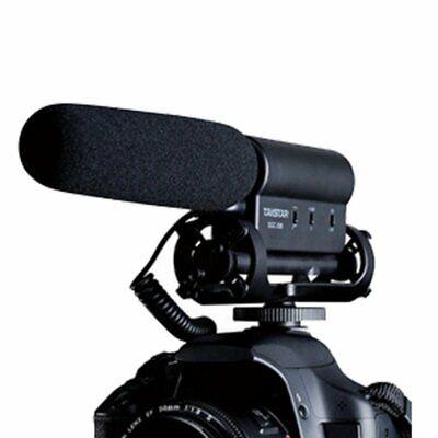 TAKSTAR SGC-598 Interview Mikrofon Microphone Mic für DSLR Kamera DV