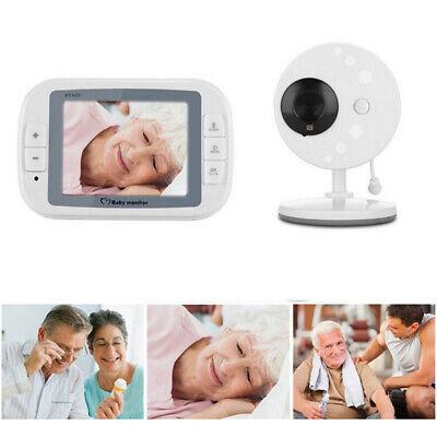 "3.5"" Digital Baby Monitor 2 Way Talk Wireless Video Audio Night Vision Camera"