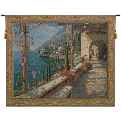 Villa In Capri Tapestry Wall Hanging