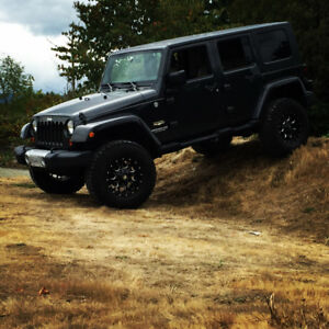 Lifted 2010 Jeep Wrangler Sahara Unlimited 4x4