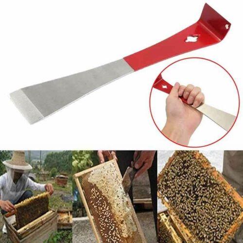 J Shape Beekeeper Bee Hive Tool Beekeeping Hook Stainless Handle Scraper Tool