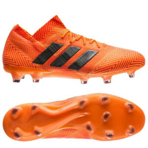 Adidas Nemeziz 18.1 FG/AG Energy Mode Orange Soccer Mens US 10.5