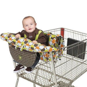 Itzy Ritzy Shopping Cart Cover - red and blue cars