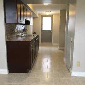Barrie.  One bedroom basement apartment