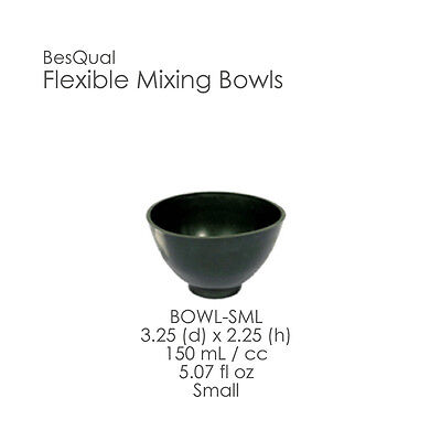 Dental Rubber Flexible Mixing Bowl Green Sizes Small Medium Large Or X-large