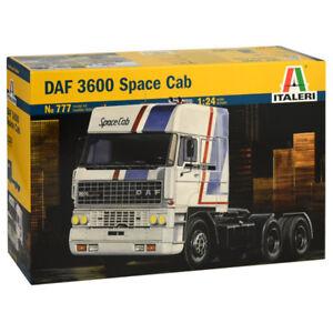 ITALERI DAF 3600 'Space Cab' 777 1:24 Truck Model Kit
