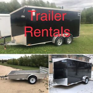 Trailer Rentals >>> moving a motorcycle? Wheel chocks available