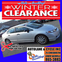 WINTER CLEARANCE ~ 2009 Honda Civic ~ Say HELLO to a GOODBUY! Bedford Halifax Preview
