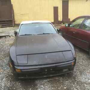 1985 Porsche 944 Rare no sunroof car MAKE OFFER ENGINE RUNS