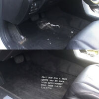MOBILE CAR DETAILING (seat & carpet shampoo+steam)