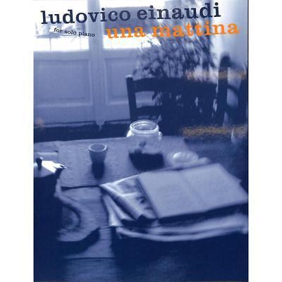 Klavier Noten -UNA MATTINA - LUDOVICO EINAUDI - for solo piano