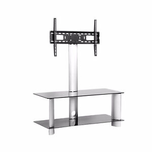 Tempered Glass Mountable TV Stand