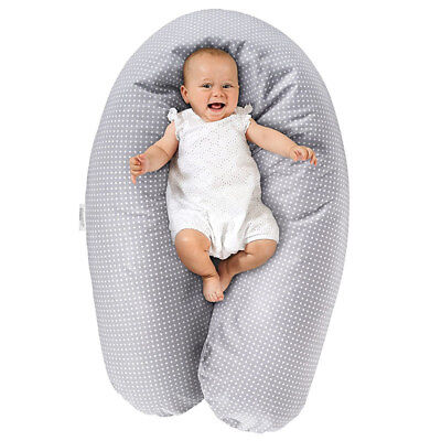 Theraline Stillkissen Lagerungskissen Baby Kissen - Dodo Pillow Premium - 180 cm