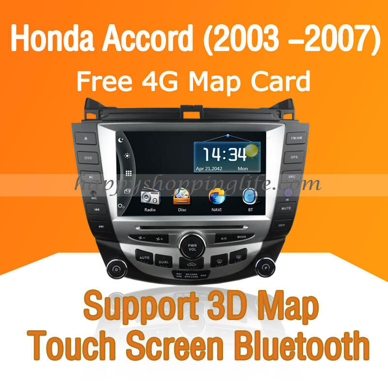 Car Dash DVD Player GPS Navigation Radio Bluetooth For