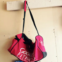Barely used gym bag and free water bottle