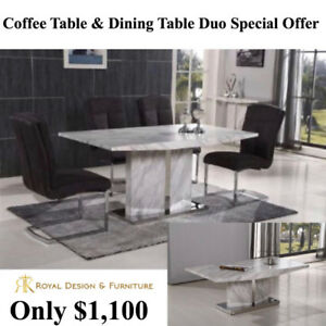Dining & Coffee Table Special Offer