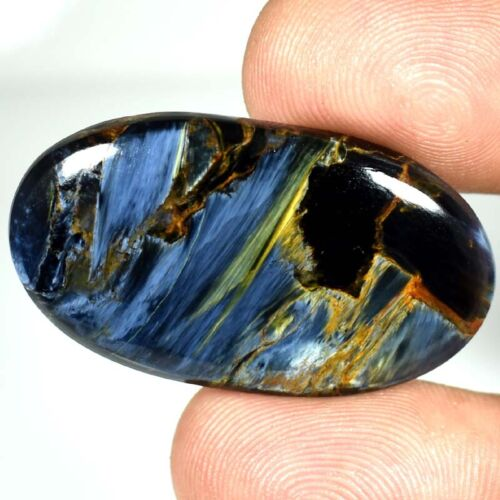 Pietersite Oval Cabochon Flashing 100% Natural Gemstones 35.55Cts.